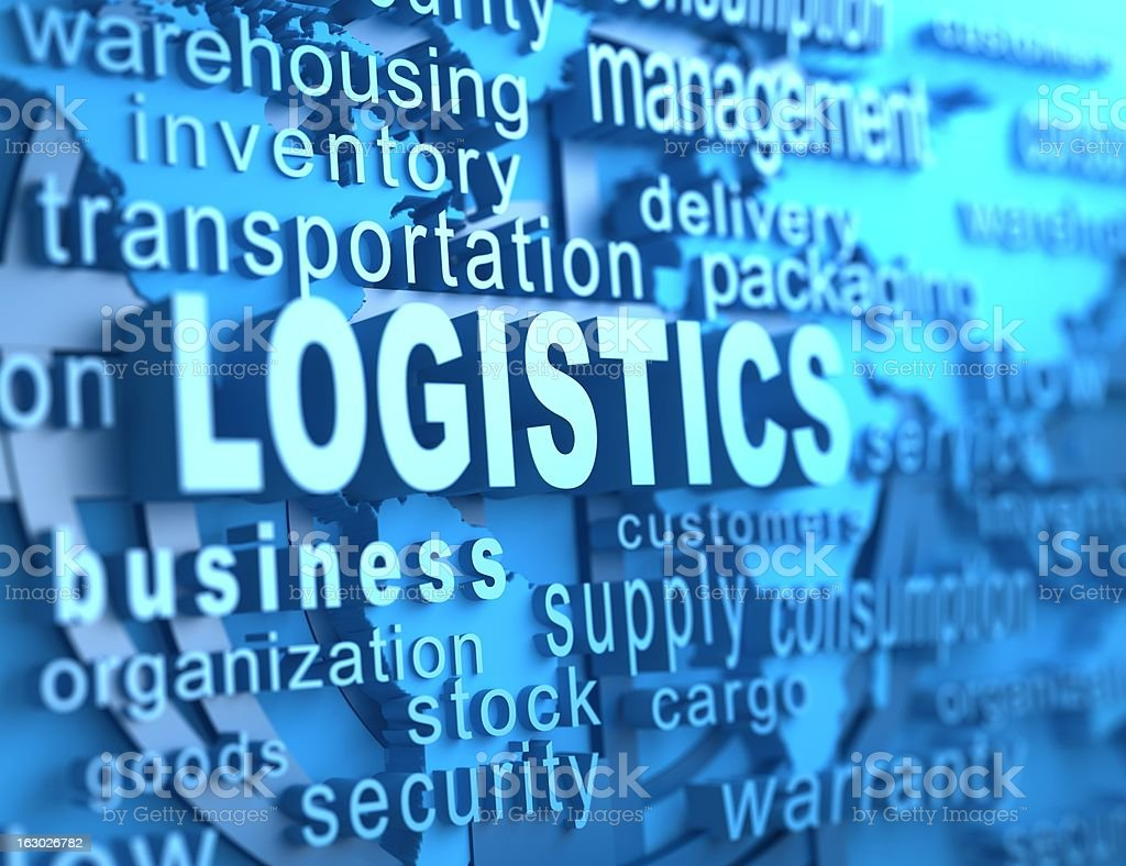logistics royalty-free stock photo