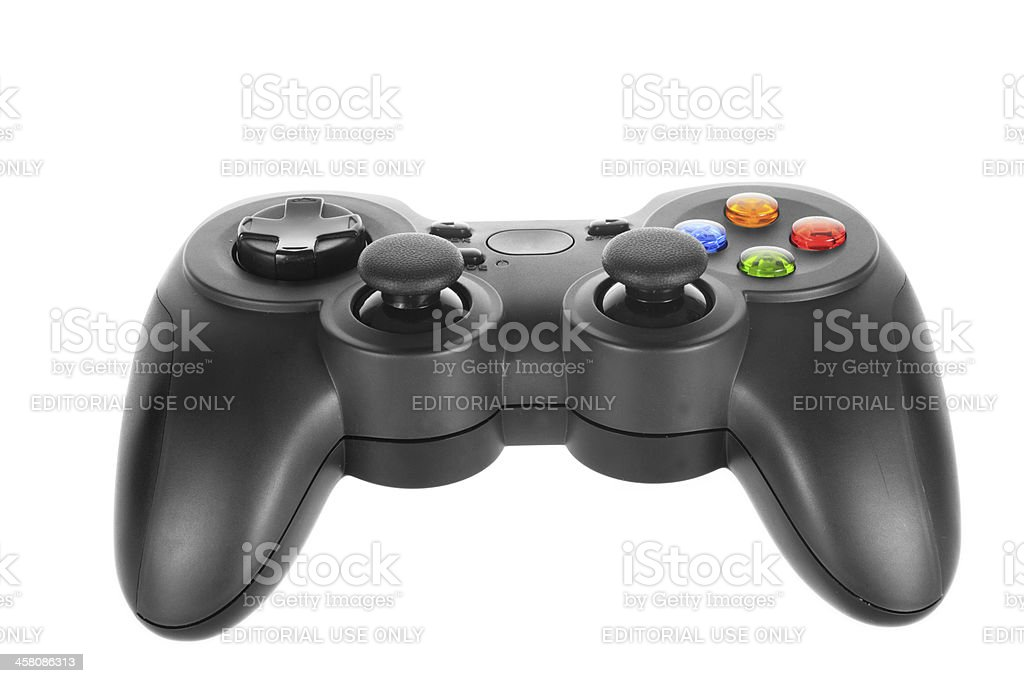 Logitech F310 gamepad stock photo