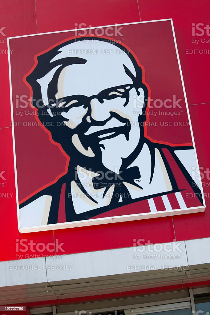 KFC logo royalty-free stock photo