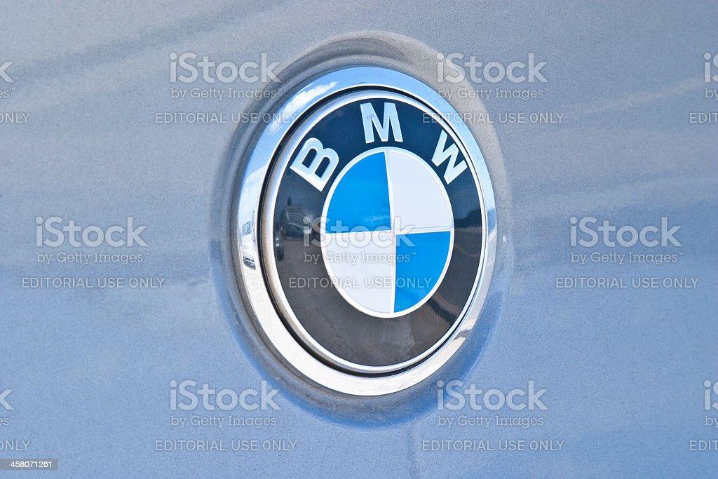 BMW Logo stock photo