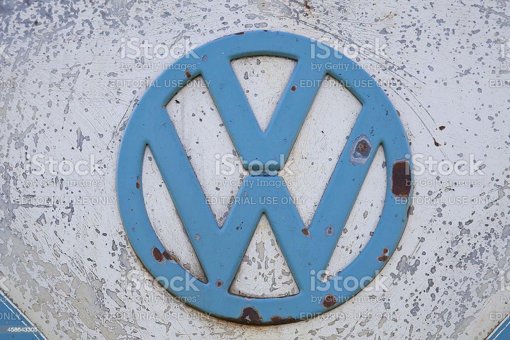 VW Logo stock photo