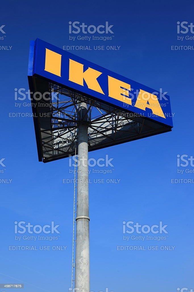 IKEA logo royalty-free stock photo