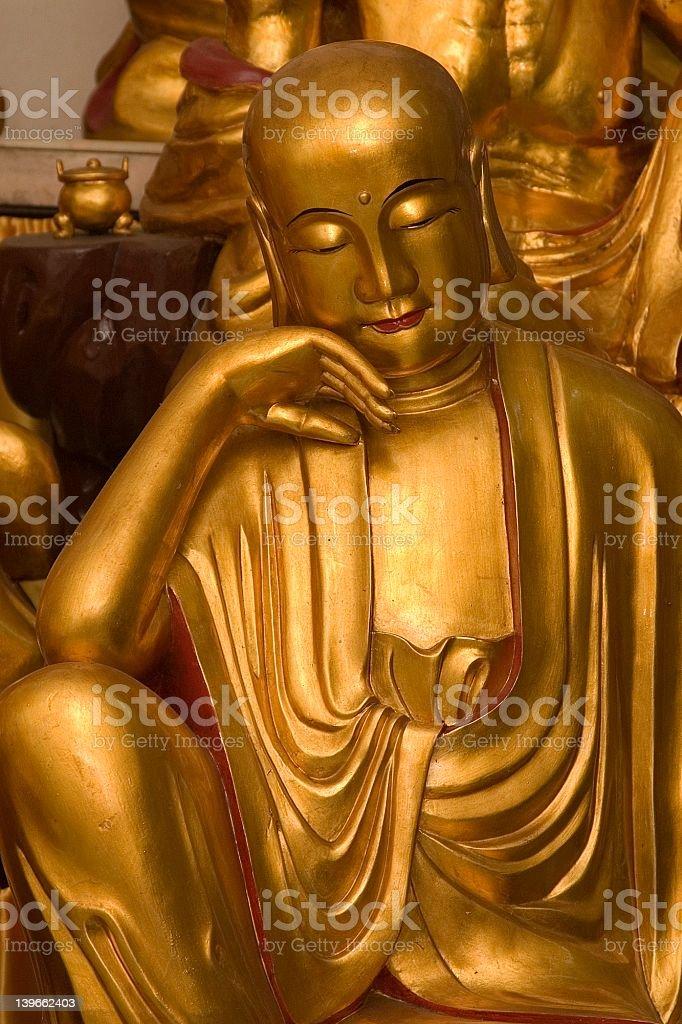Lohan Statue royalty-free stock photo