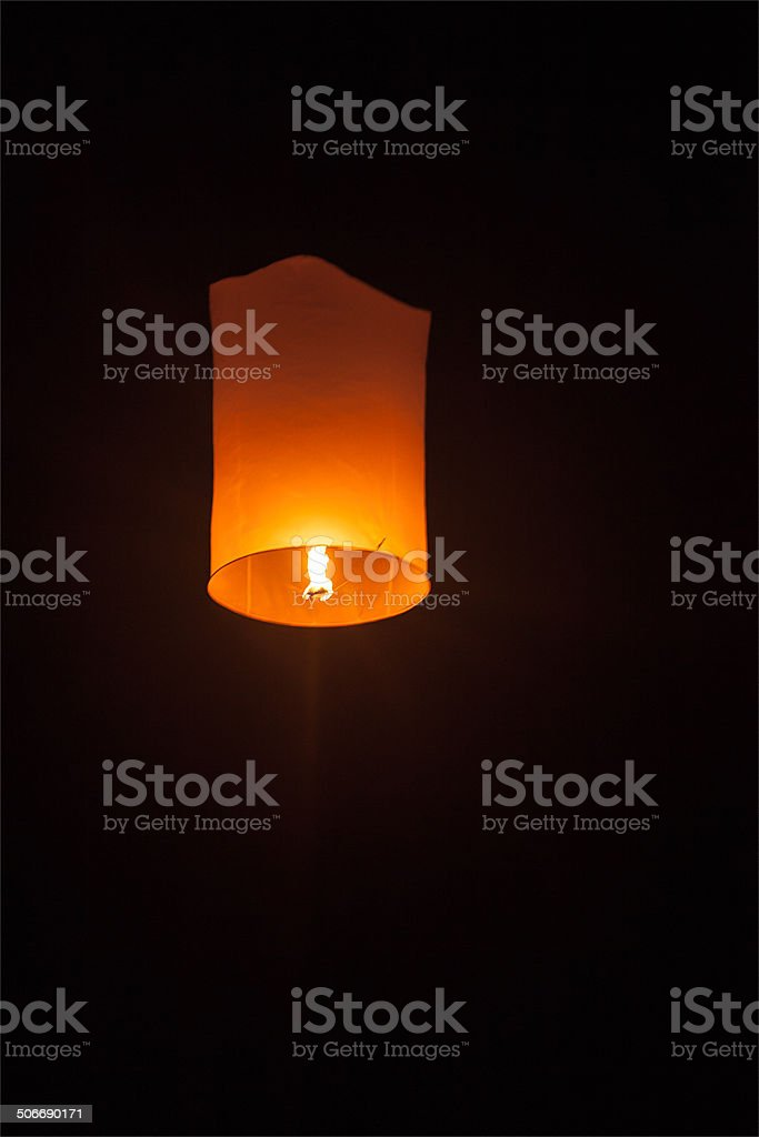 Loi Krathong stock photo