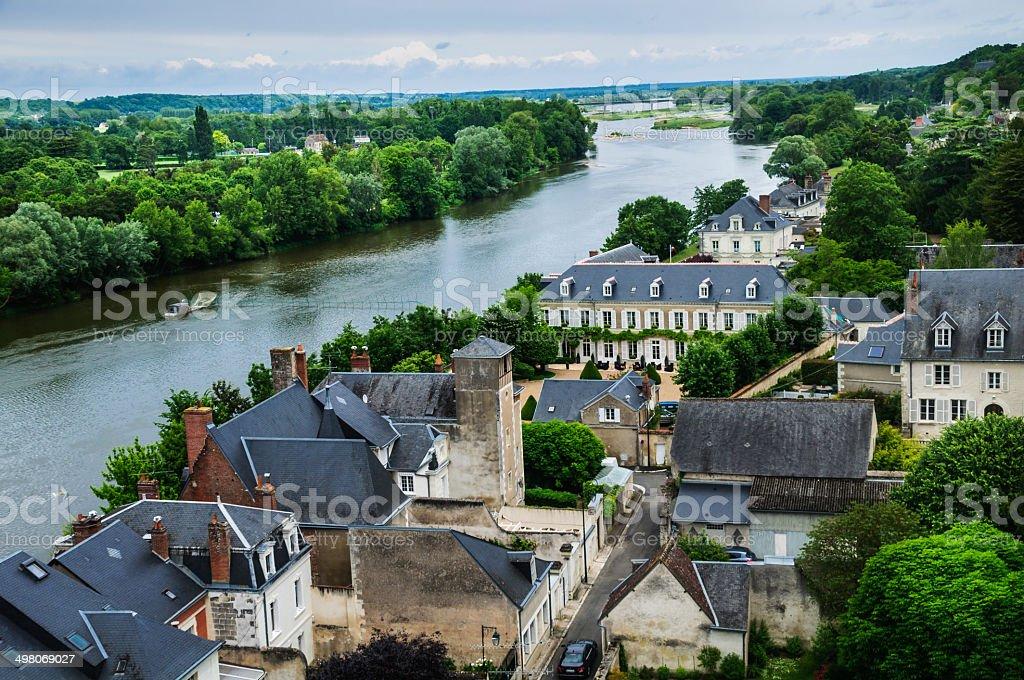 Loire River stock photo