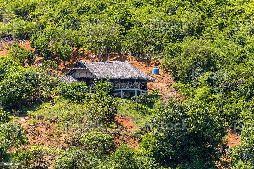 Lokobe Strict Reserve - Nosy Be, Madagascar stock photo