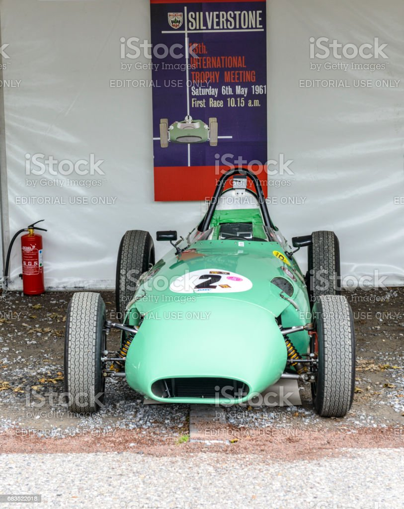 Lola MK2 Formula Junior racing car stock photo