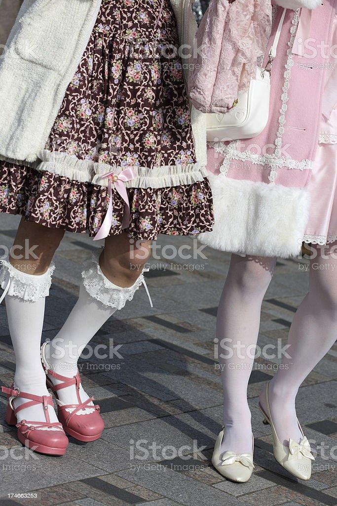 Lolita fashion stock photo