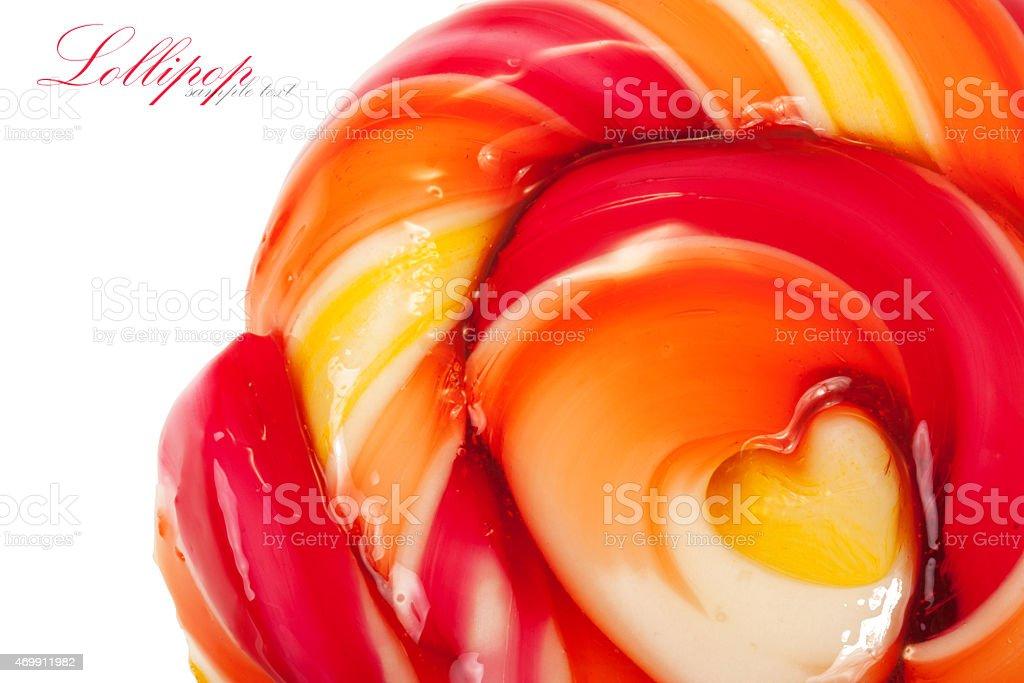 Lollipop stock photo