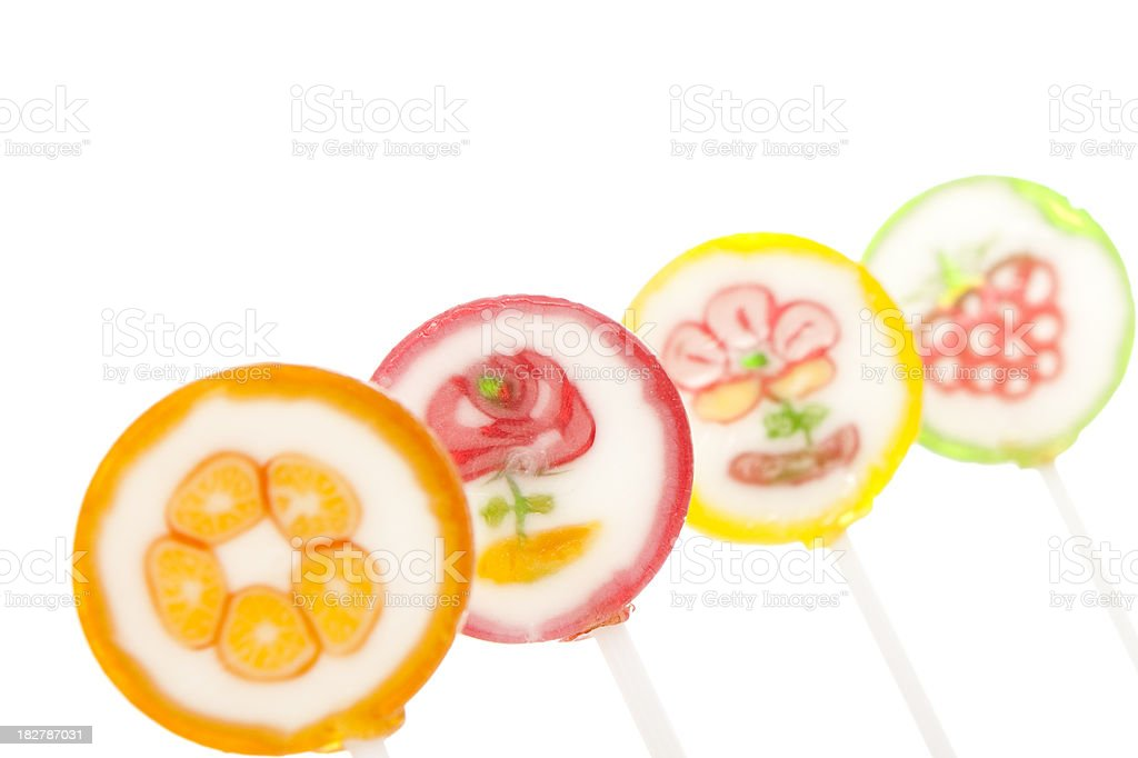 lollipops. royalty-free stock photo