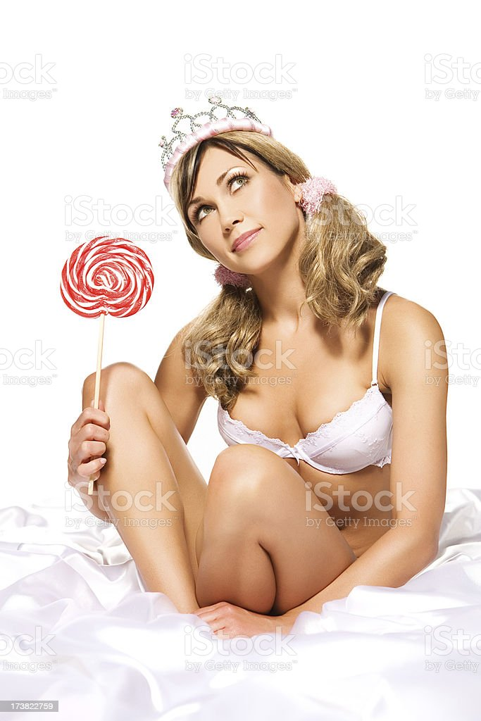 lolly royalty-free stock photo