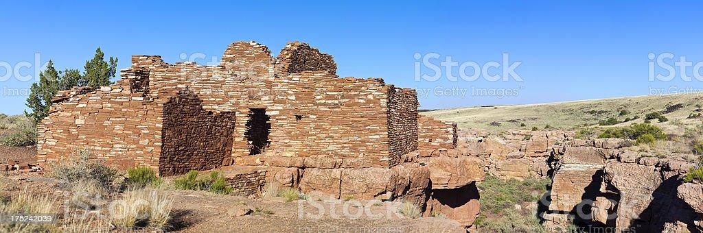 Lomaki Ruins In Arizona royalty-free stock photo