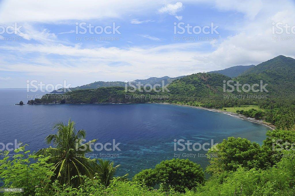 Lombok islands stock photo