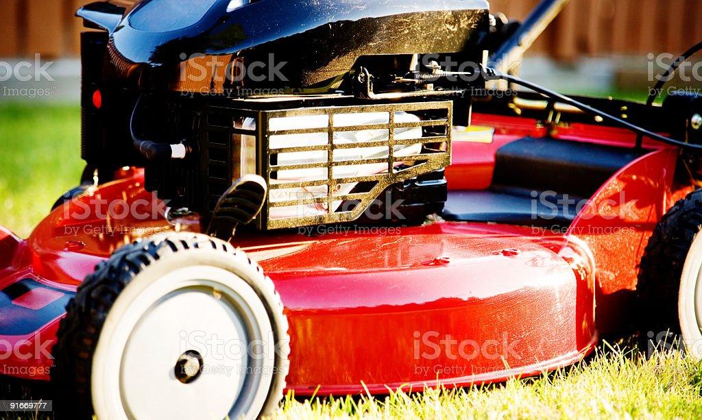 Lomo Lawnmower royalty-free stock photo