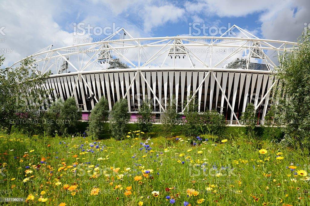 London 2012 Olympic Stadium royalty-free stock photo