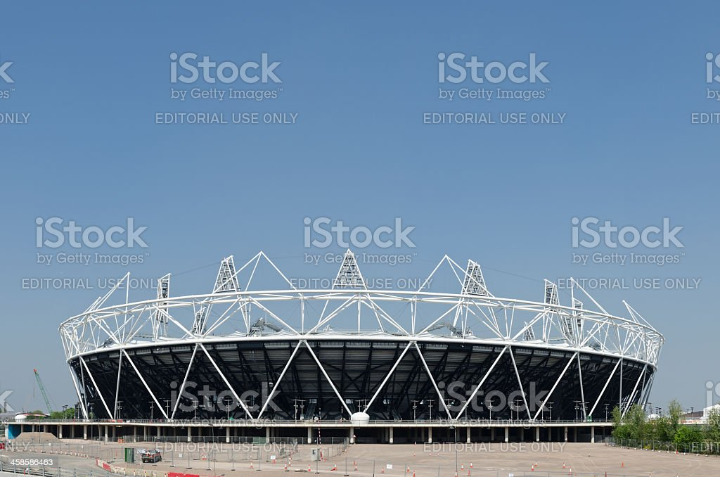 London 2012 Olympics Stadium. stock photo