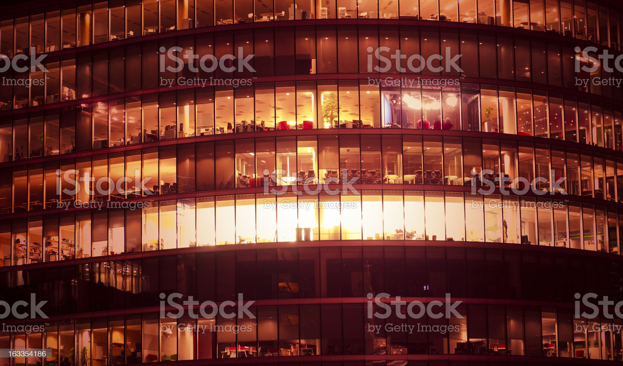 London abstract glass contemporary architecture royalty-free stock photo