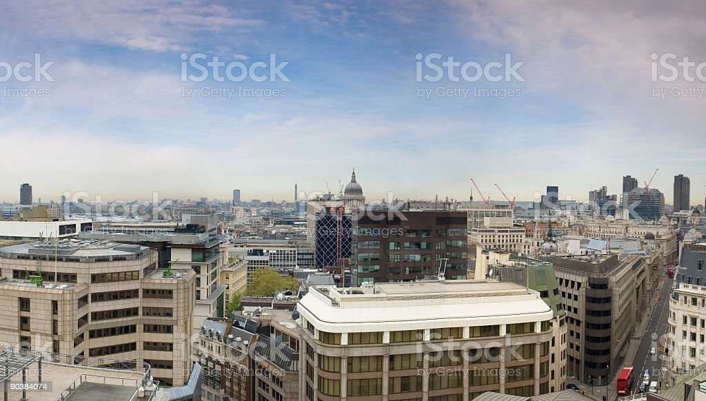 London and St Pauls Cathedral royalty-free stock photo