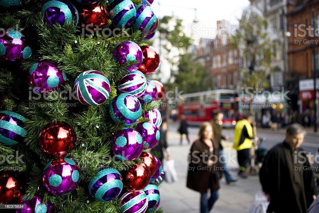 London at Christmas royalty-free stock photo