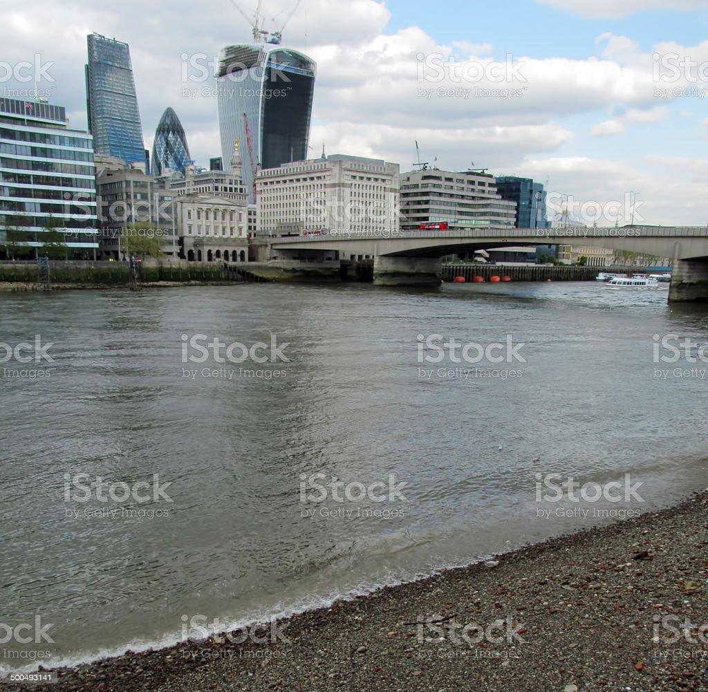 London banks stock photo