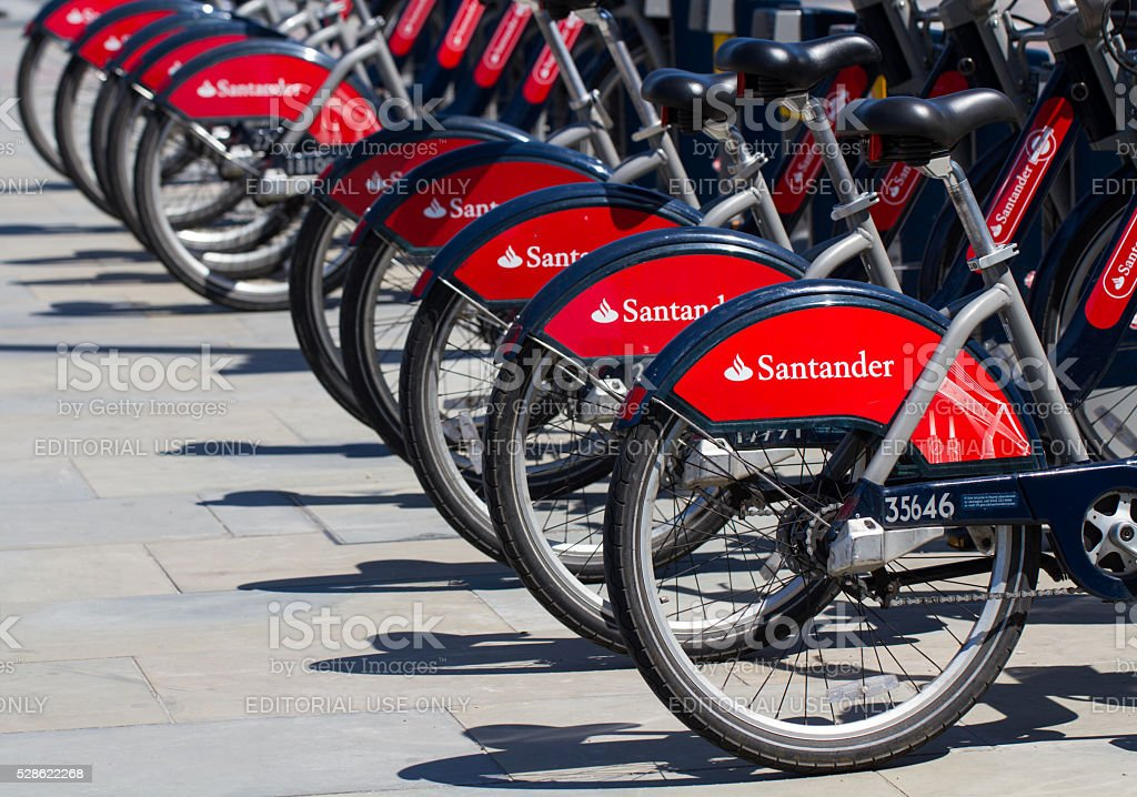 London Bicycle Hire Scheme stock photo