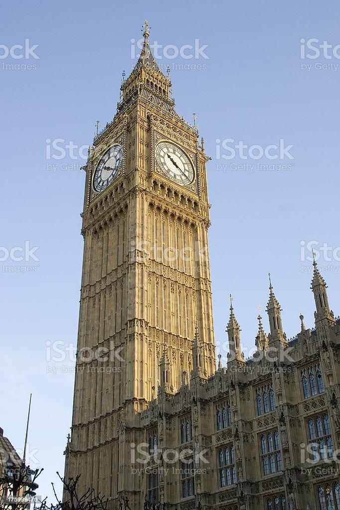 London - Big Ben royalty-free stock photo