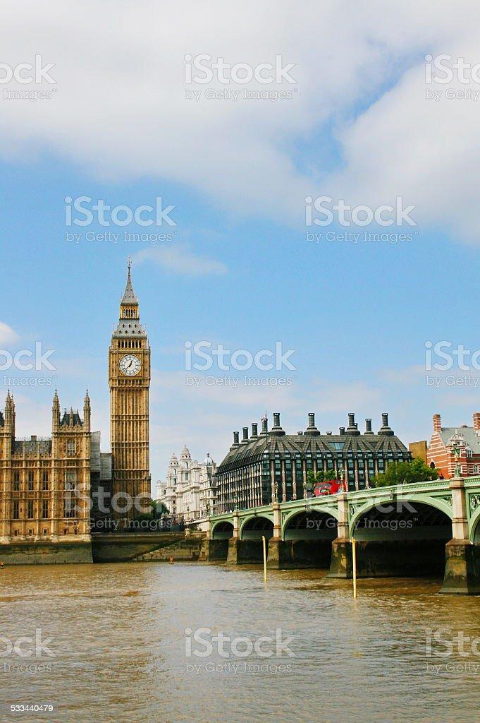 London Big ben stock photo