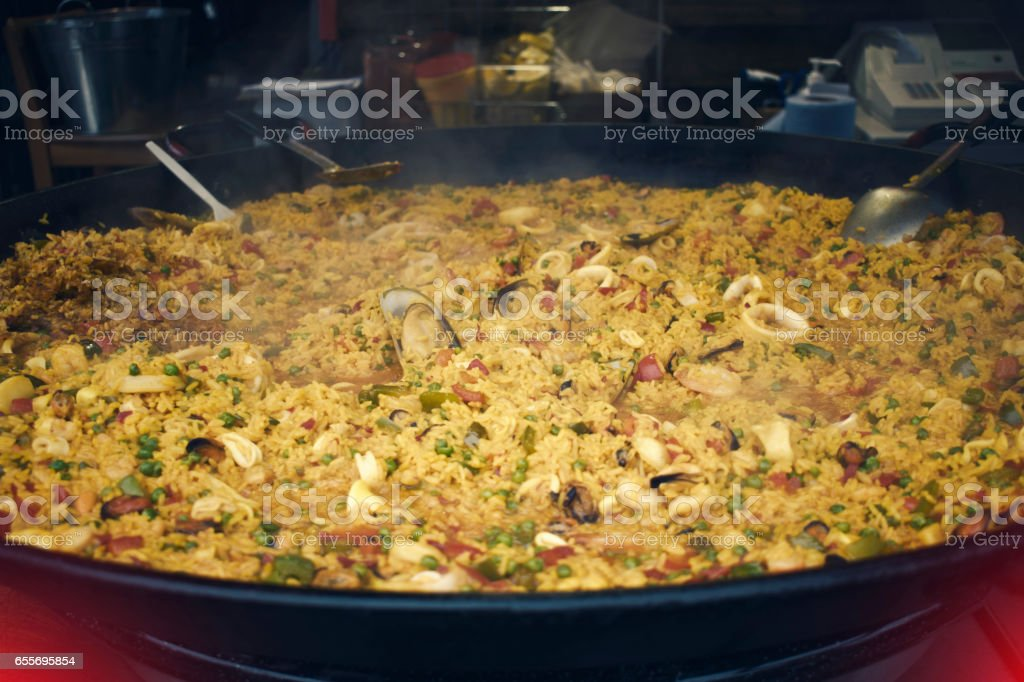 London Borough Market Street Food stock photo