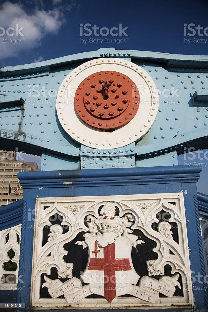 London Bridge Detail royalty-free stock photo