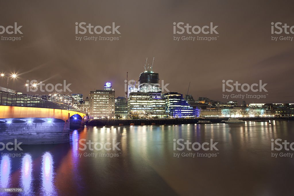 London Bridge royalty-free stock photo
