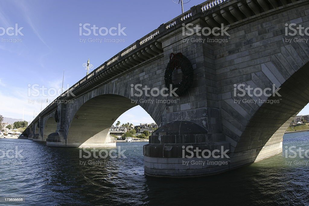 London Bridge foto stock royalty-free
