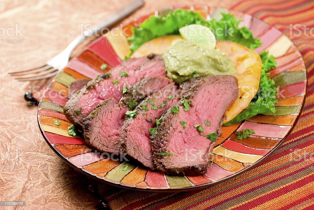 London Broil royalty-free stock photo