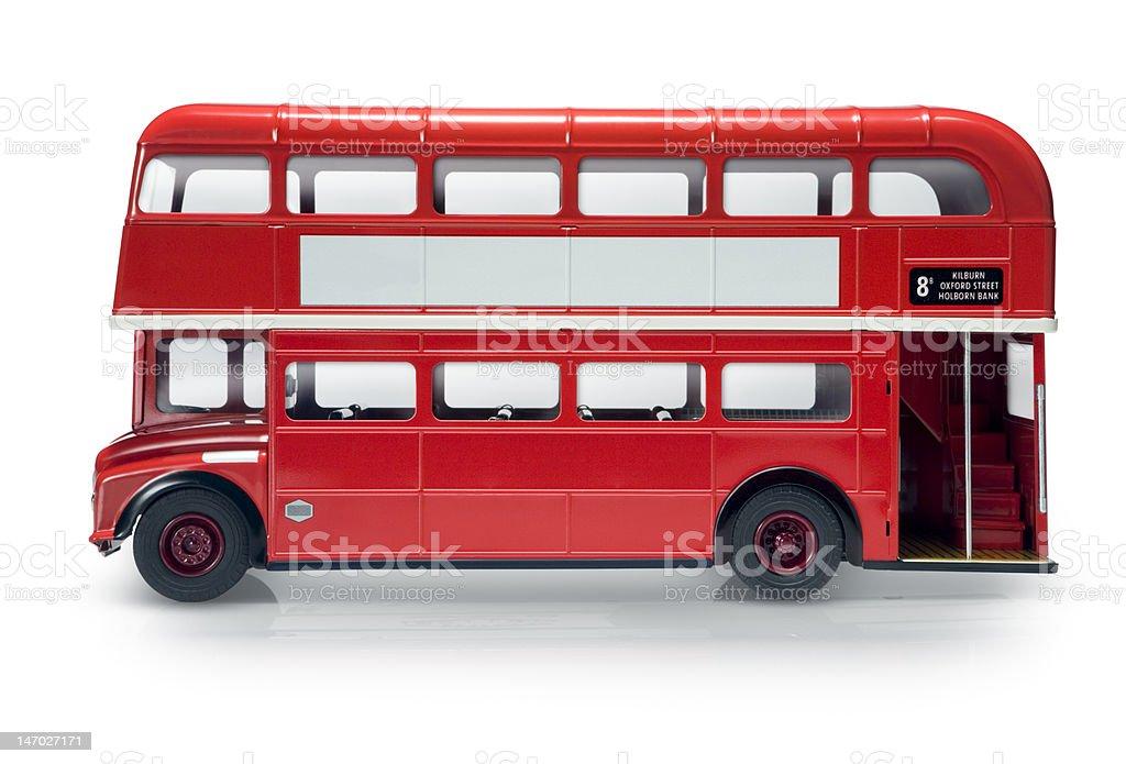 London bus royalty-free stock photo