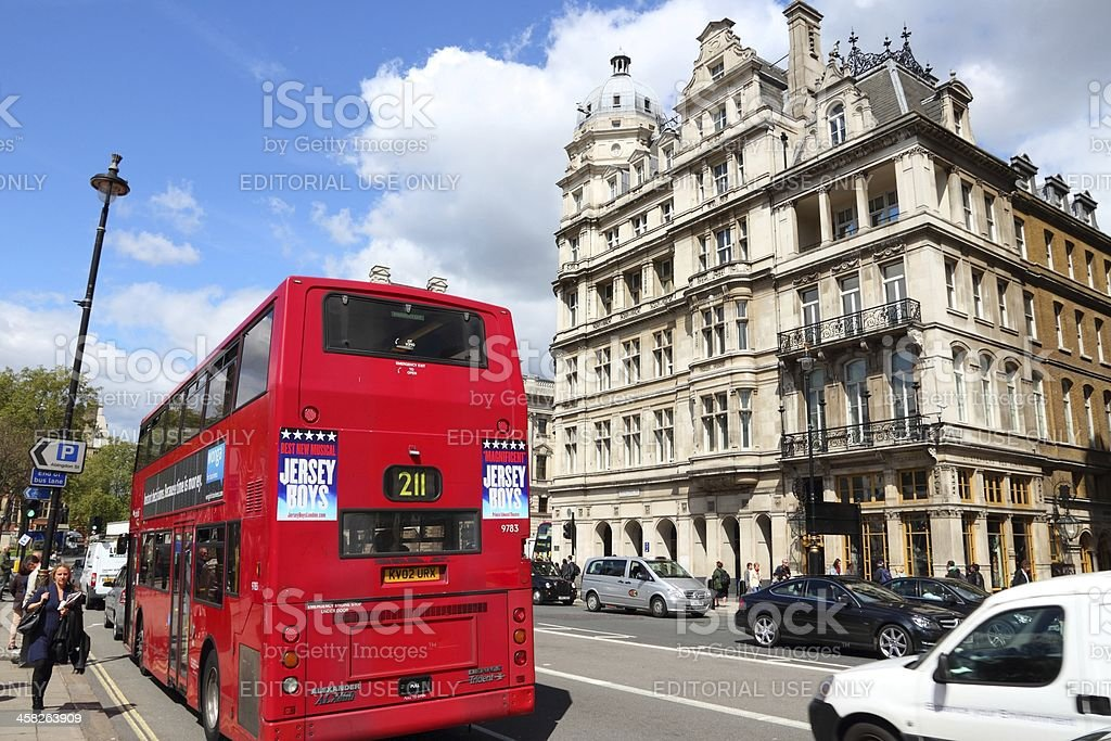 London bus royalty-free stock photo