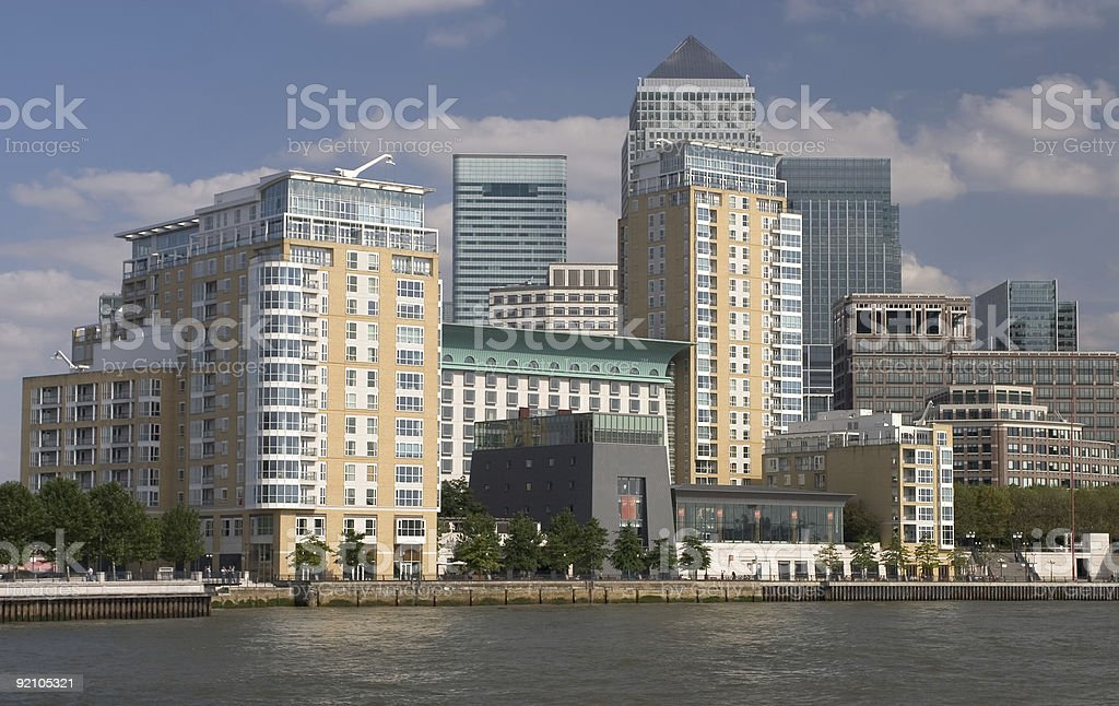 London Business District royalty-free stock photo