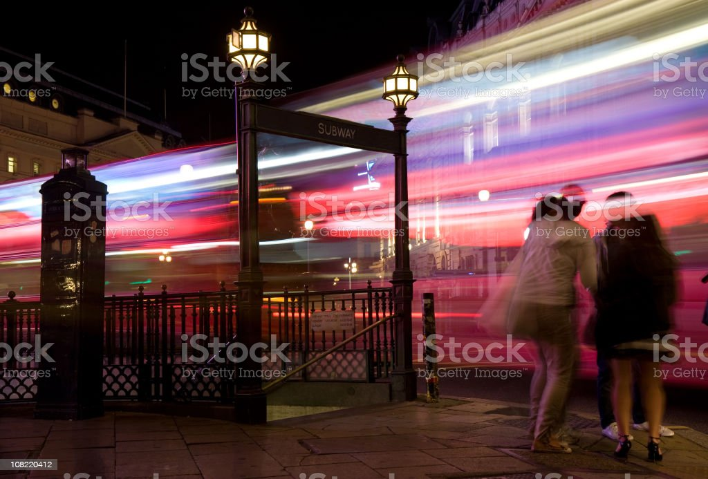 London Buzz stock photo