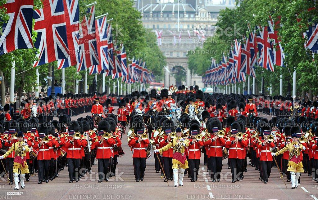 London Celebration stock photo