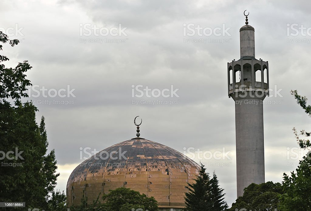 London Central (Regents Park) Mosque England, UK stock photo
