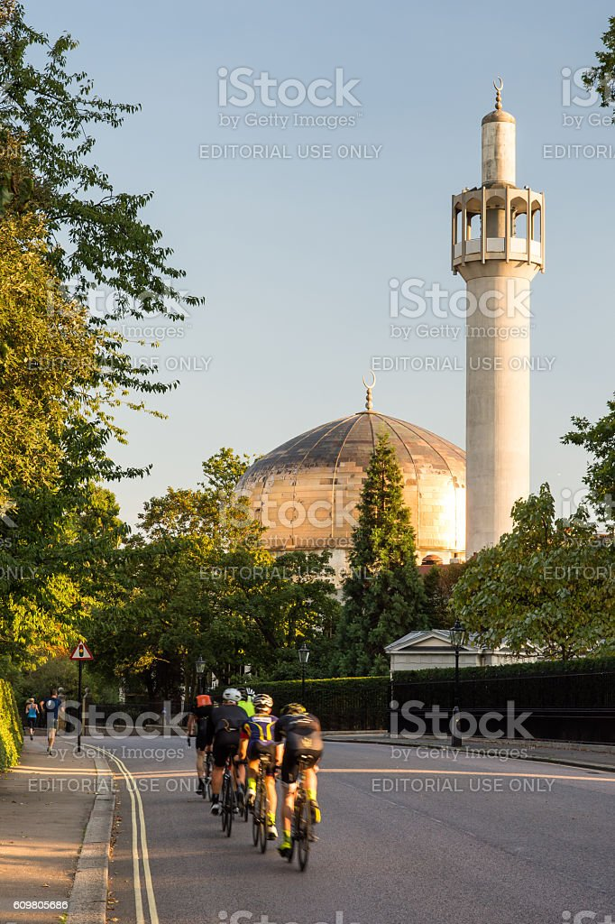 London Central Mosque stock photo