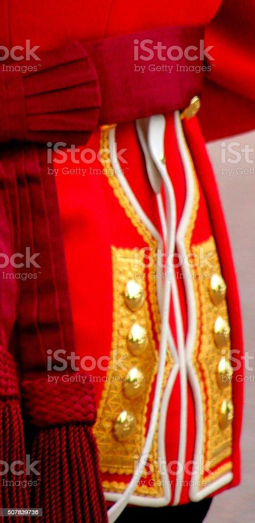London Ceremonial Scene stock photo