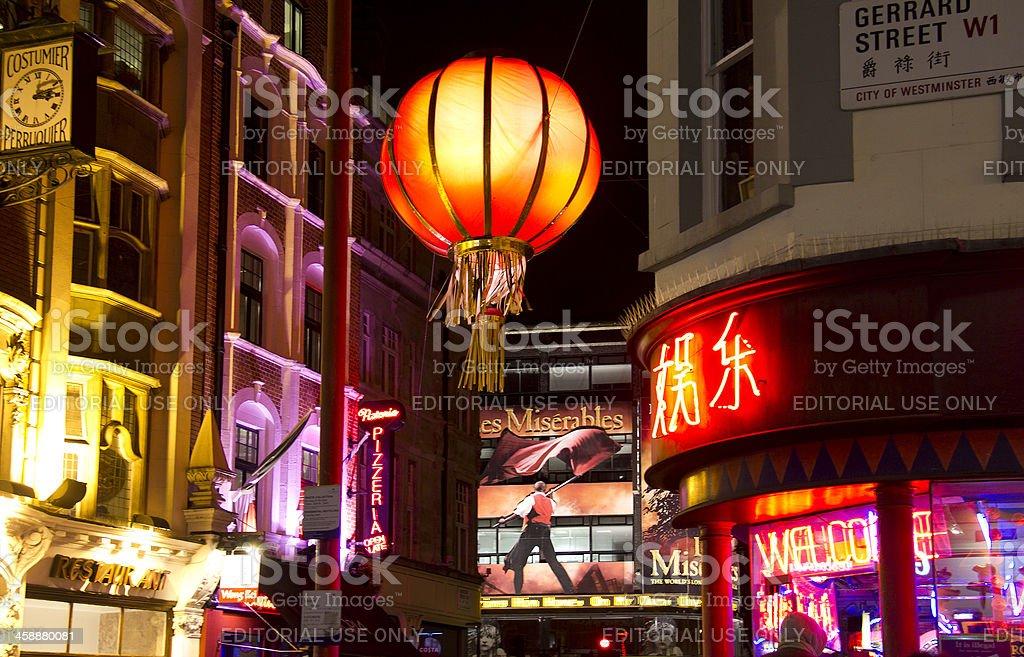 London China Town stock photo