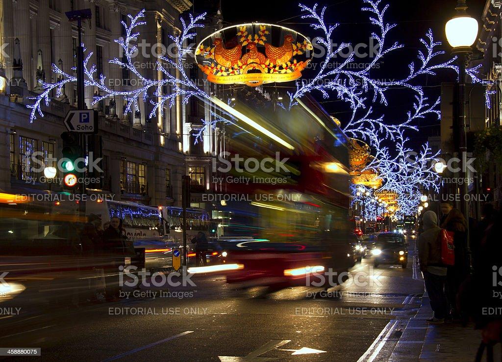 London Christmas royalty-free stock photo