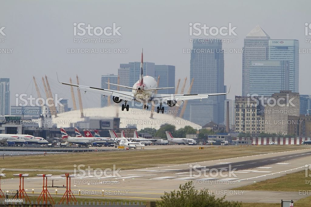 London City Airport... stock photo