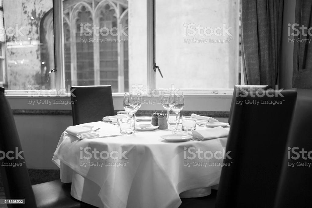 London City Dining stock photo