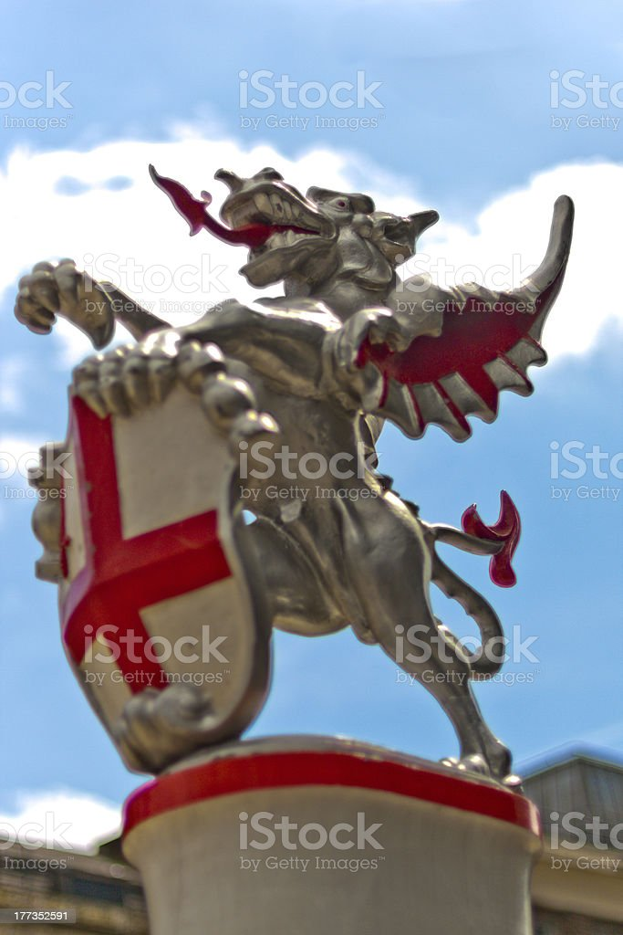 London City dragons stock photo