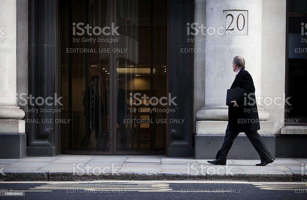 London City gent royalty-free stock photo