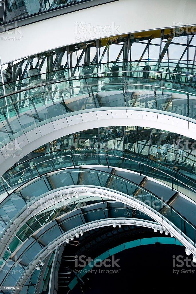London City Hall interior stock photo