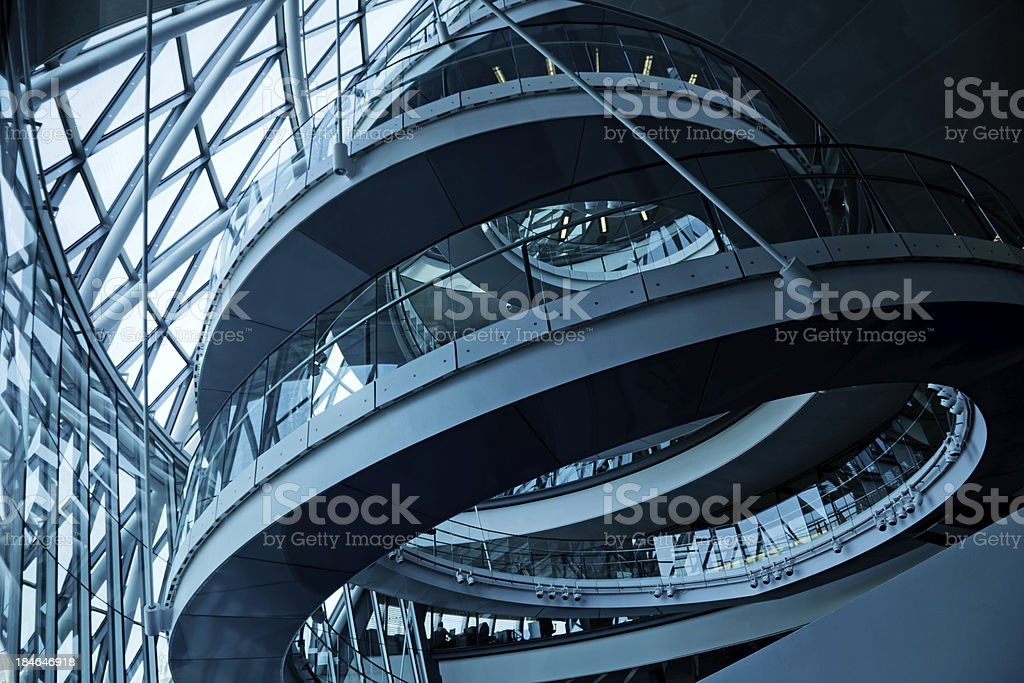 London City Hall royalty-free stock photo