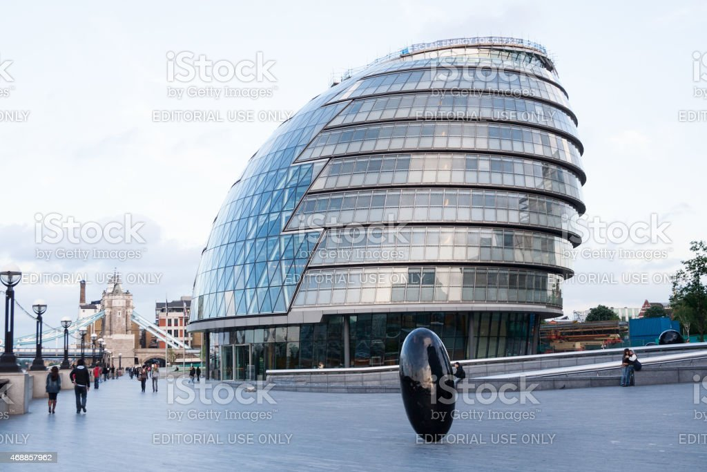 GLA London City Hall stock photo