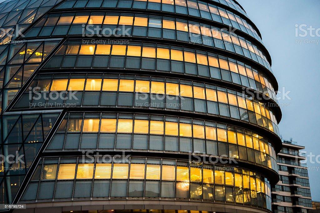 London City Hall stock photo